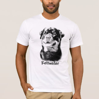 Camiseta Carvão vegetal de Rottweiler