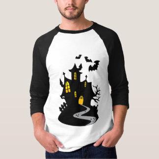 Camiseta Casa assombrada com bastões