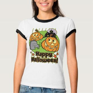 Camiseta Casa assombrada do Dia das Bruxas Jack-o-Lanterna