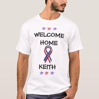 Camiseta Casa bem-vinda