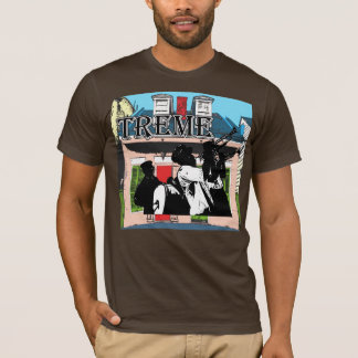Camiseta Casa de campo do Creole de Treme