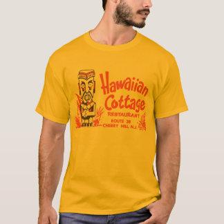 Camiseta Casa de campo havaiana (parte dianteira e parte
