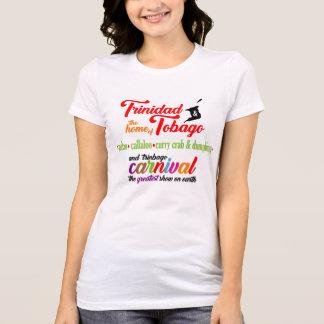 Camiseta Casa de Trinidad & de Tobago-… de 3 (luz)