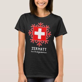 Camiseta Casa de Zermatt do Matterhorn poderoso