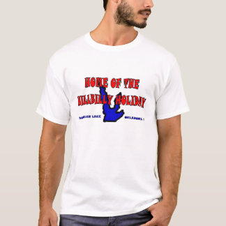 Camiseta Casa do feriado do hillbilly