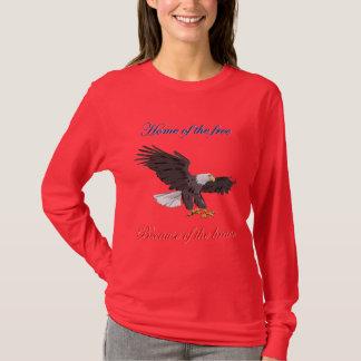 Camiseta Casa do livre devido ao bravo