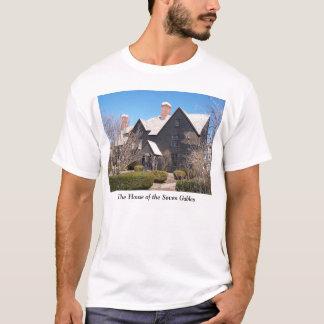 Camiseta Casa do t-shirt de Salem de sete frontões