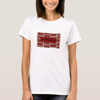 Camiseta casa do tijolo
