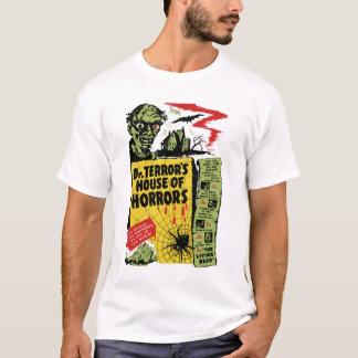 Camiseta Casa do vintage do Dr. Terror dos horror