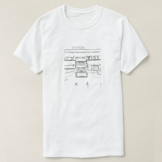 Camiseta Casa e reboque