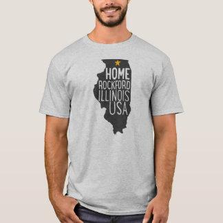 Camiseta Casa: Rockford Illinois EUA