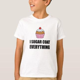 Camiseta Casaco do açúcar tudo cupcake