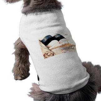 Camiseta Casaco do cachorrinho do cartão de Tallinn ø