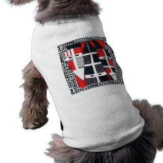 Camiseta Casaco do cão de Selknam