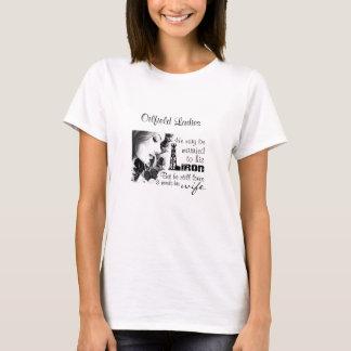 Camiseta Casado ao FERRO, mas à esposa dos amores