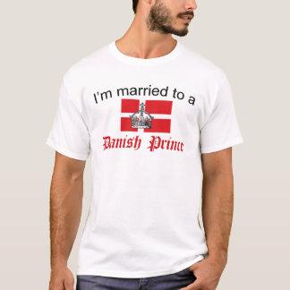 Camiseta Casado ao príncipe dinamarquês