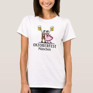 Camiseta Casal da cerveja de Oktoberfest do t-shirt das