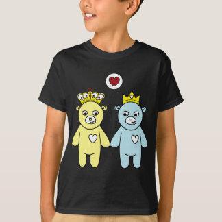Camiseta casal do urso de ursinho
