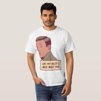 Camiseta Casal personalizado do noivado