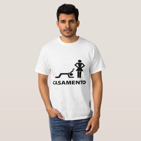 Camiseta casamento
