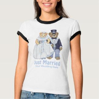 Camiseta Casamento do urso de ursinho - personalize
