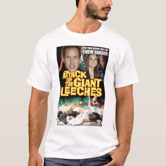 Camiseta Casamento real/Leeches gigantes