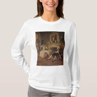 Camiseta Casamento um modo do la: II o Tete um Tete, c.1743