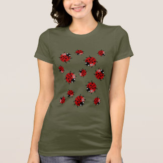 Camiseta Cascata da joaninha do joaninha