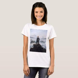 Camiseta CASPAR DAVID FRIEDRICH - andarilho acima do mar