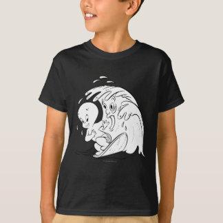 Camiseta Casper e a onda grande