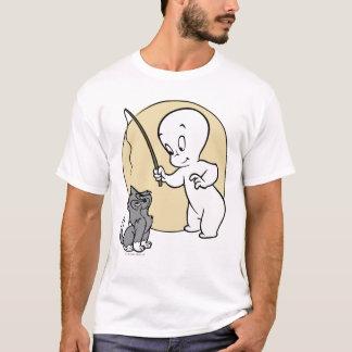 Camiseta Casper e gatinho