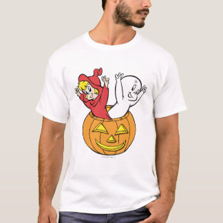 Camiseta Casper e Wendy na abóbora