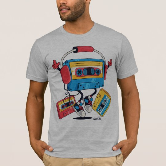 Camiseta Cassette Tape