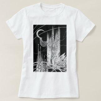 Camiseta Castelo crescente da lua