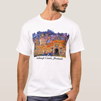 Camiseta Castelo de Edimburgo, Scotland.