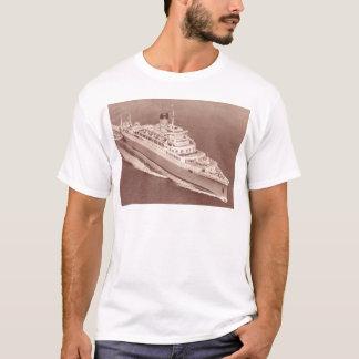 Camiseta Castelo do RMS Windsor, linha do castelo da união