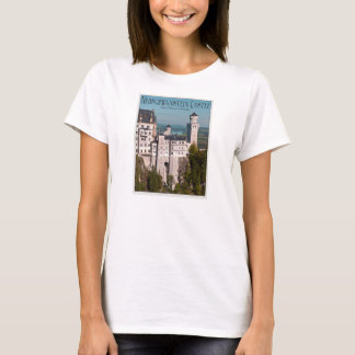 Camiseta Castelo Neuschwanstein