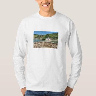 Camiseta Castelo pedra de conde de palatinado com Kaub