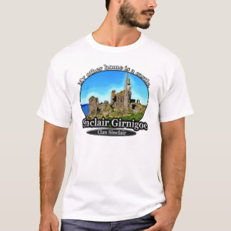 Camiseta Castelo Sinclair Girnigoe Scotland de Sinclair do