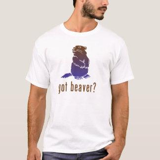 Camiseta Castor obtido?