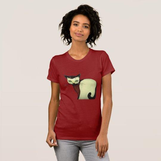 Camiseta Cat art tshirt for womans