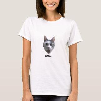 Camiseta CAT DE OMG! (o que o tem visto?)