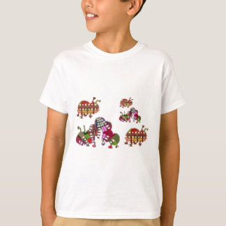 Camiseta Caterpillar e senhora Desinsetar Gráfico do
