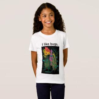Camiseta Caterpillar no jardim em black2