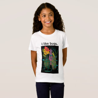 Camiseta Caterpillar no jardim no preto