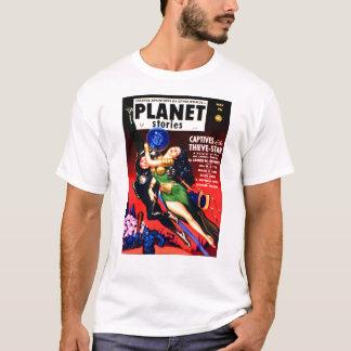 Camiseta Cativo da estrela dos ladrões