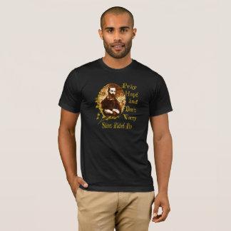 Camiseta Católico do t-shirt dos santos do t-shirt do Pio