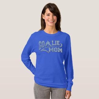 Camiseta Cauda atlética da mamã do Goalie do hóquei