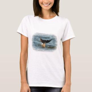 Camiseta Cauda do golfinho acima