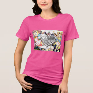 Camiseta Cauda feericamente - amor de Nalu